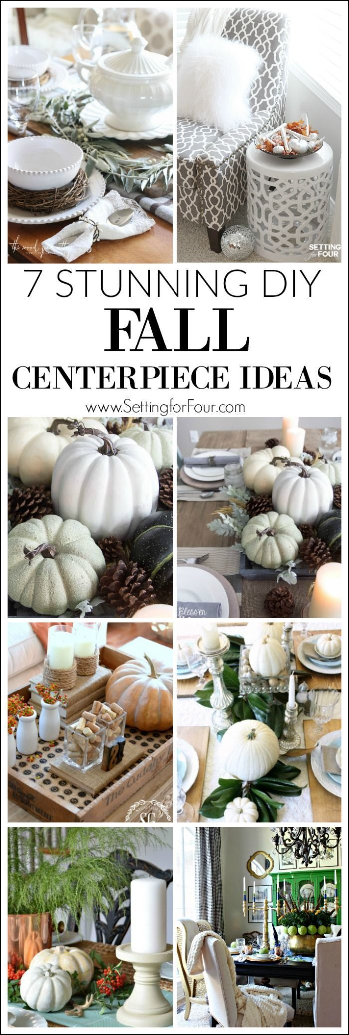 7 Stunning Fall Centerpiece Ideas