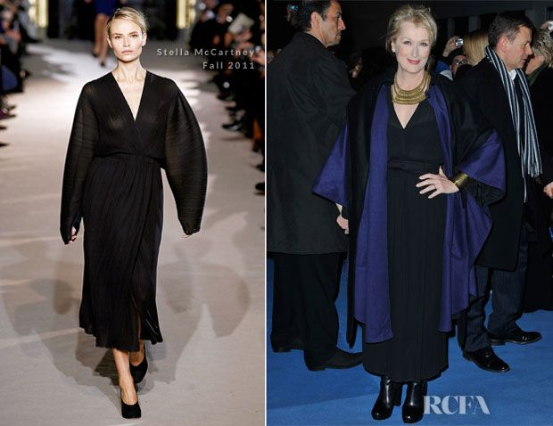 Meryl Streep In Stella McCartney - 'The Iron Lady' London Premiere >> Casual IRINA