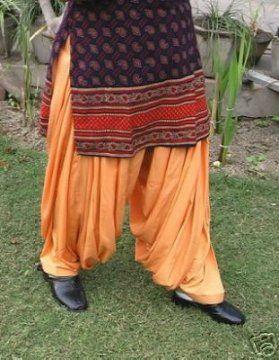 Heavy Patiala Salwar (Rani Patiala Salwar) from Patiala City !!