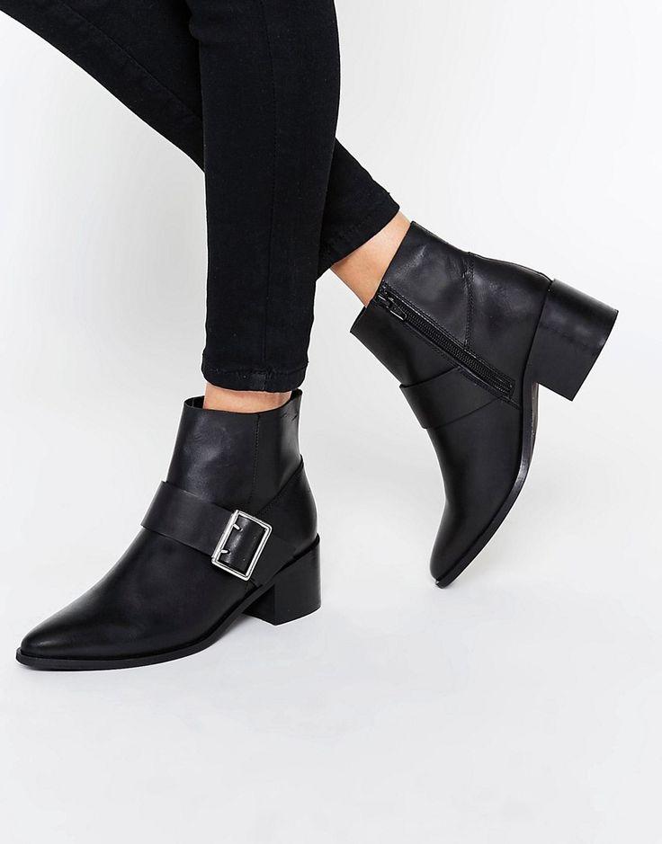 Femme Pippa Chunky Talon Chelsea Cheville Plateforme Bottes Chaussures Noir Rose Gol-afficher le titre d'origine