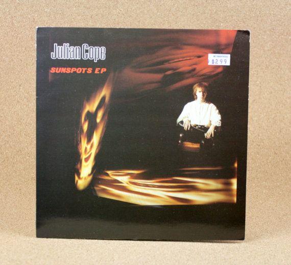 Julian Cope  Sunspots EP  Mercury Records  by N2THEATTIC on Etsy