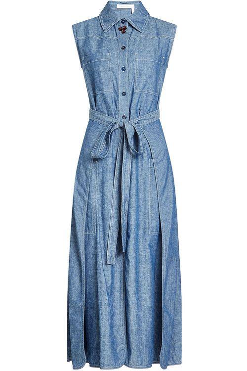 25 best ideas about sleeveless denim shirts on