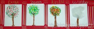 4 seizoenen bomen
