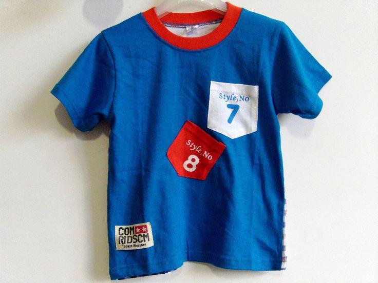 Новый 2016 детей тенниски одежды мальчиков девочек летние футболки модные детские письма короткий рукав футболки топ дети