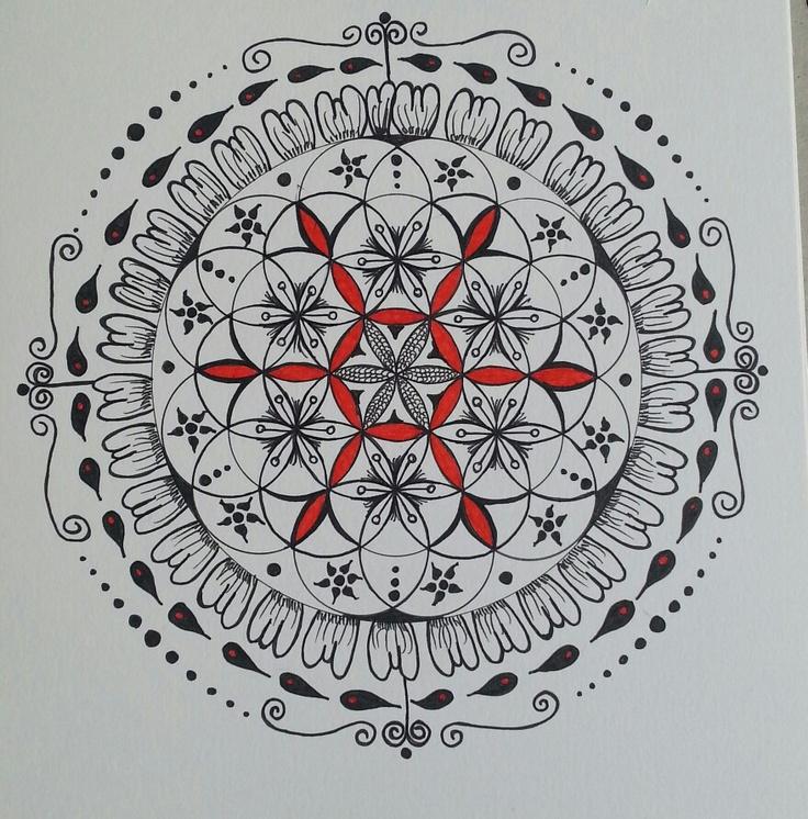 Inkwork on bristol board. By myself ( Sharon Morgan ).