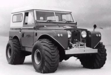 Built for Shell Oil Company in 1963 for use in Alaska during exploration of possible pipeline routes, this Land Rover was fitted with specia...