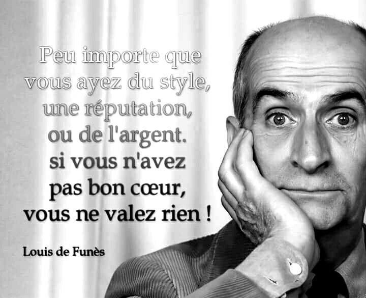 Louis de Funès, un grand monsieur qui parlait vrai