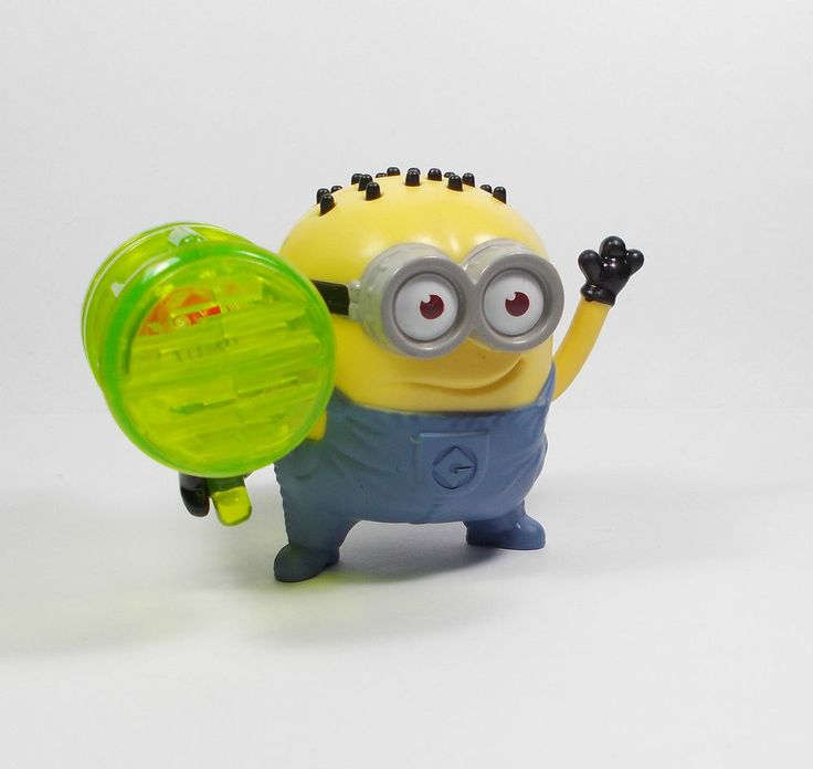Despicable Me - Minion - Jerry - Whistle - Toy Figure - Cake Topper