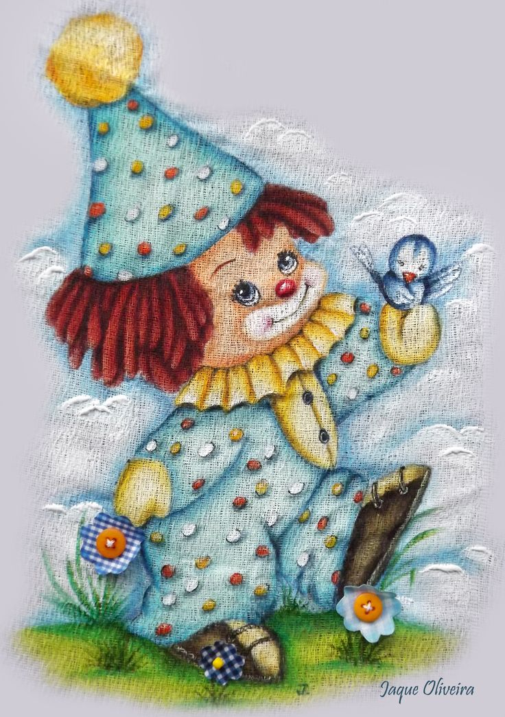 17 best images about i luv clowns on pinterest circus - Decorarte pinturas ...