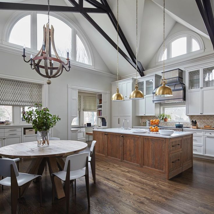 Kitchen Lighting Vaulted Ceiling: 43 Best Vaulted Ceilings Kitchen Ideas Images On Pinterest