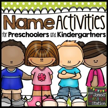 Name Activities for Preschoolers and Kindergartners (Editable)Use these resources to help your students learn all about their name.  This packet includes a variety of differentiated whole group, small group and independent activities for name practice.