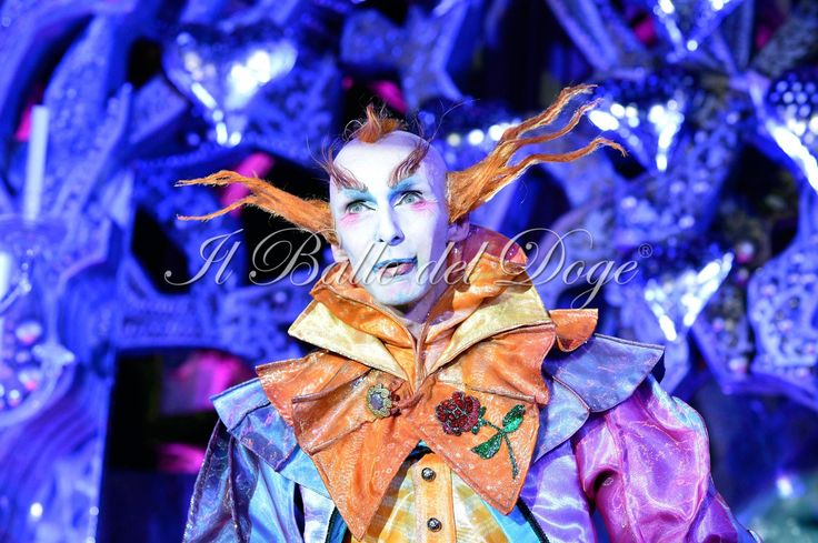 Chris Channing: Master of Ceremonies at 'Ballo del Doge' 2013. Venice Carnival behind closed doors. Antonia Sautter design/event