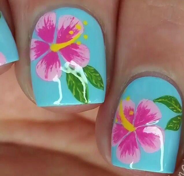 Y flor hawaiana.