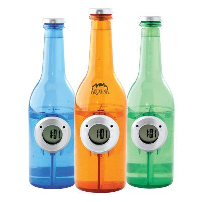 bottle clock پانی سے چلنے والی بوتل گھڑی