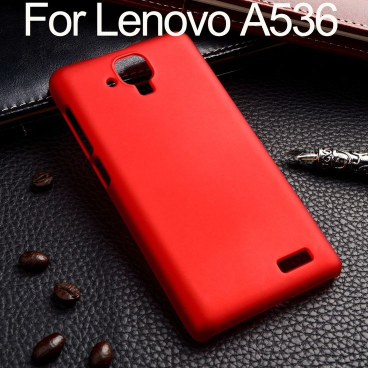 For Lenovo A536 A358T Case Ultra Thin Frosted Rubber Oil Painted Hard  Plastic Shell Hood