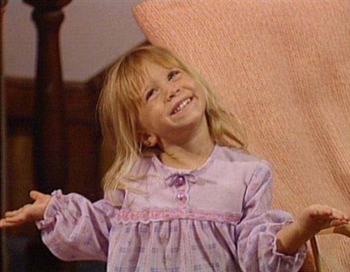 Mary-Kate Olsen as Michelle Tanner on Full House | Olsen ...