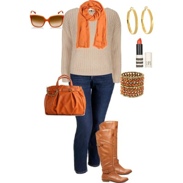 """fall plus size"" by penny-martin on Polyvore"