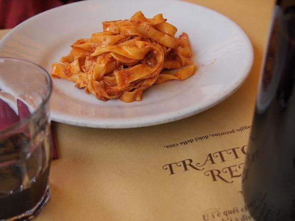"Tagliatelle al Ragù at Trattoria Renzi - ""Five reasons to visit Emilia-Romagna: 1.Food"" by @keaneiscool"