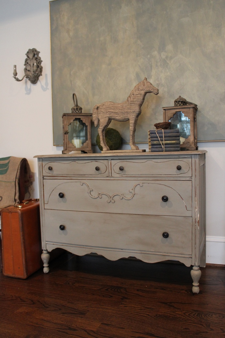 Refinished Antique Furniture Www.blueeggbrownnest.com Follow My Blog!  Refurbished ...