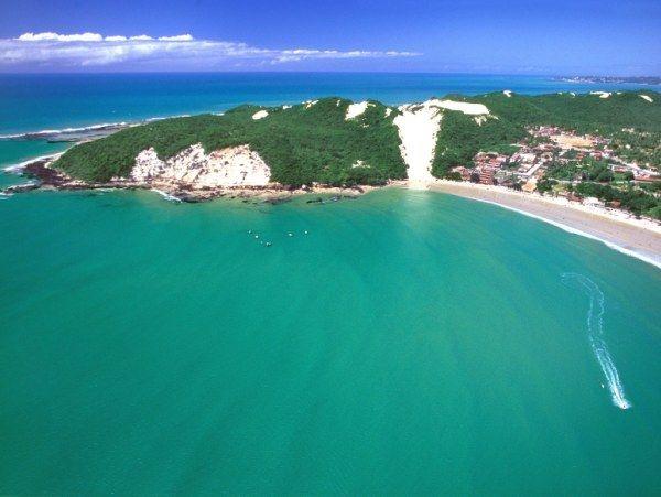 Praia de Ponta Negra - Natal - Rio Grande do Norte - Brasil