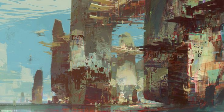 Kite City 1 - Guild Wars 2, Theo Prins on ArtStation at http://www.artstation.com/artwork/kite-city-1-guild-wars-2