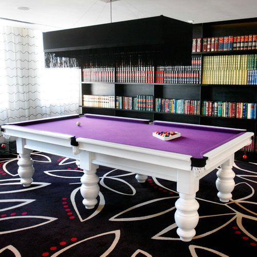 Diamond Pool Tables White