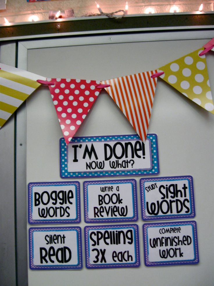 I'm done! Now what? FREE PRINTABLES