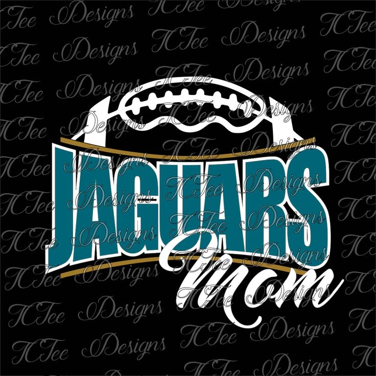 Jaguars Football Mom - Custom SVG Design Download - Vectur Cut File by TCTeeDesigns on Etsy