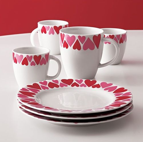 Crate and Barrel Valentine\u0027s plates and mugs & 1598 best DinnerwarePlate \u0026 All from Wood images on Pinterest ...