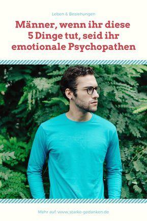 wie erkenne ich einen psychopathen