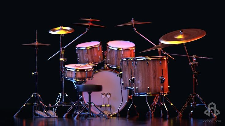 Set Of Drums on stage. Selection of clips from January 2016. Our complete RF portfolio you can find here: www.shutterstock.com www.dissolve.com www.pond5.com