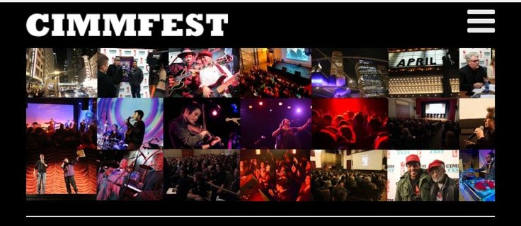 Chicago International Movies & Music Fest returns! Join us! #ilovechicago #CIMMfest #2017 #music #movies #theatticat #art #culture