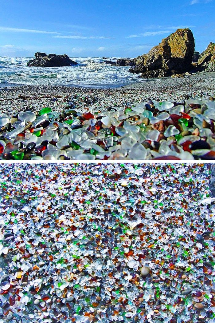 Best Glass Beach Ideas On Pinterest Sea Glass Beach - The 15 most unusual and beautiful beaches in the world