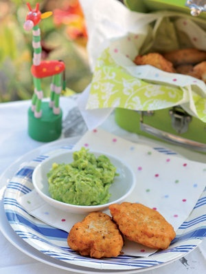 Fish cakes with pea puree | Quick & easy dinners | YourParenting