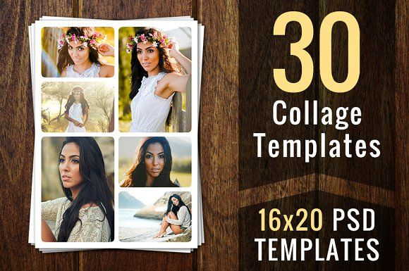 Photo Collage Templates Psd Template By Supremer Studio On