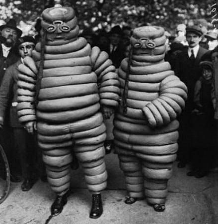 Mr & Mrs Michelin