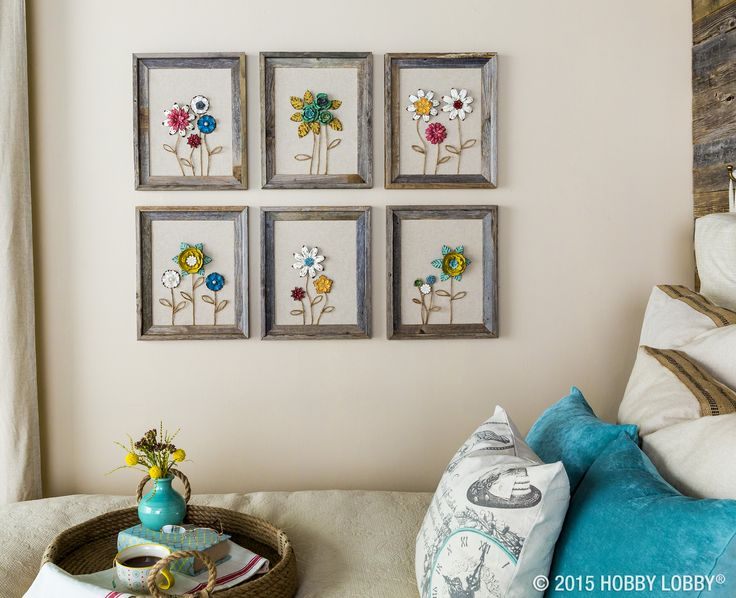 Metal Flower Wall Decor Hobby Lobby : Best images about gallery wall ideas on