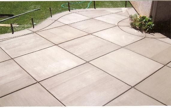 Brushed Concrete Colors | driveways, patios, pool decks and walkways.