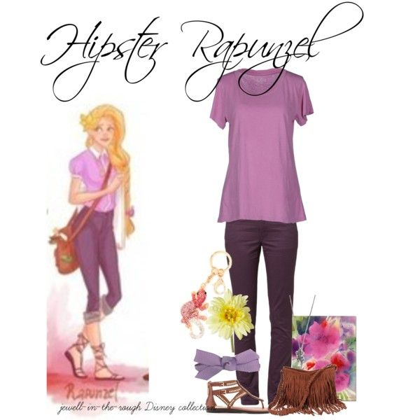"""Hipster Rapunzel"" by jewell-in-the-rough on Polyvore                                                                                                                                                                                 More"