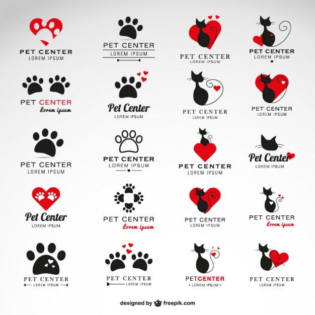 Pet Center Logo Template (Ai Download) By Freepik
