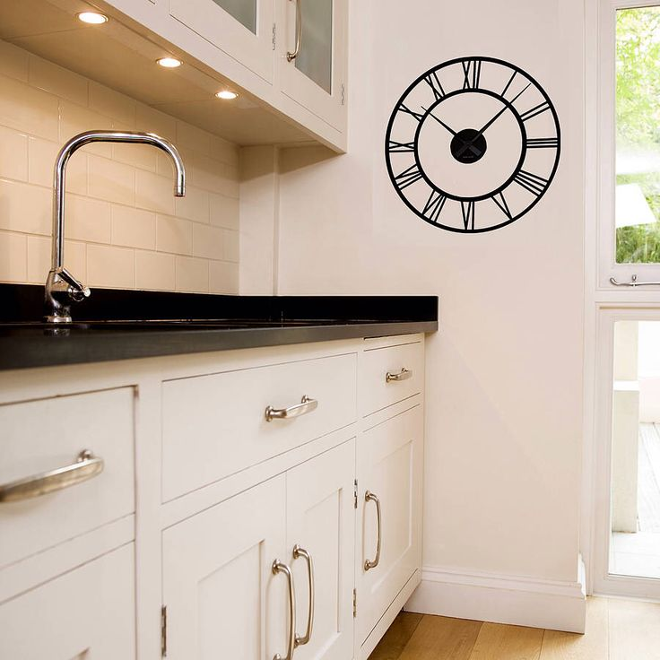 I've just found Classic Clock Wall Sticker With Mechanism. A classic clock wall sticker which comes complete with working mechanism. . £37.00