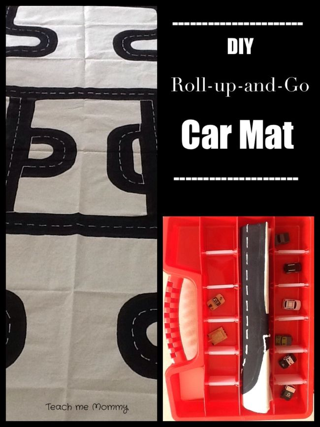 Roll Up and Go Car mat - Perfect for traveling!