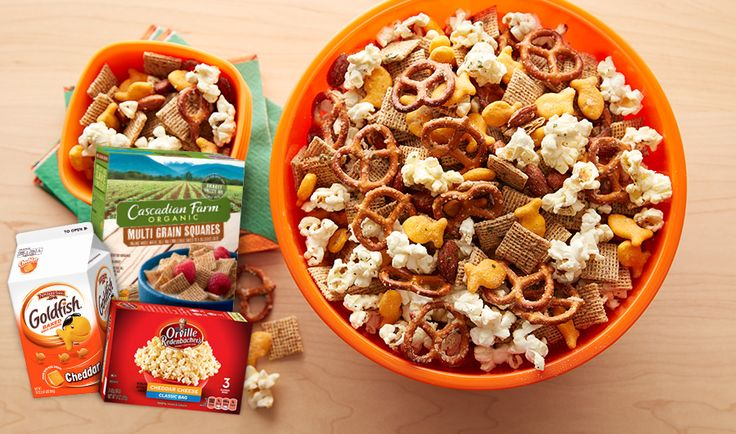 Stock up and save on #MiniMeals at Publix for flavorful ways to fuel your fans during #BracketMadness. Discover easy recipes like our Dream Team Snack Mix that makes cheering on your bracket pick a delicious success!