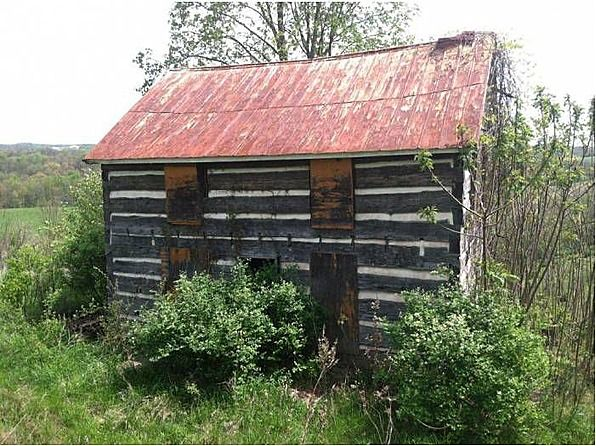c. 1870 Cabin – Cameron, WV –     This 1800 Era Log Cabin has plenty of potential for restoration or dismantle for the well aged Logs! Spectacular Rolling Hills & Great Local Fishing Streams!Situated on 0.45