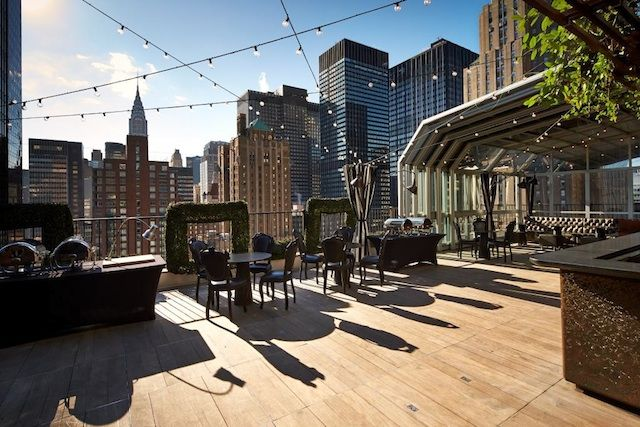 Upstairs at the kimberly find more of nyc 39 s best rooftop for Terrace upstairs