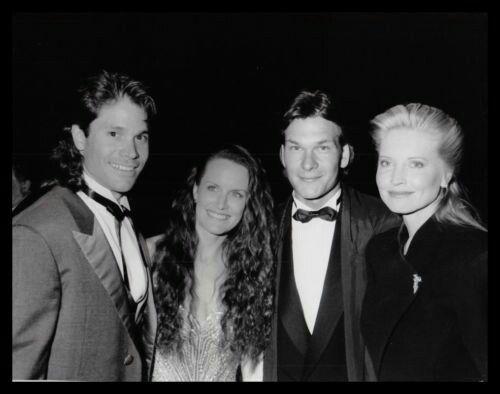 1989 Peter Reckell, Dale Kristien, Patrick Swayze and Lisa Niemi