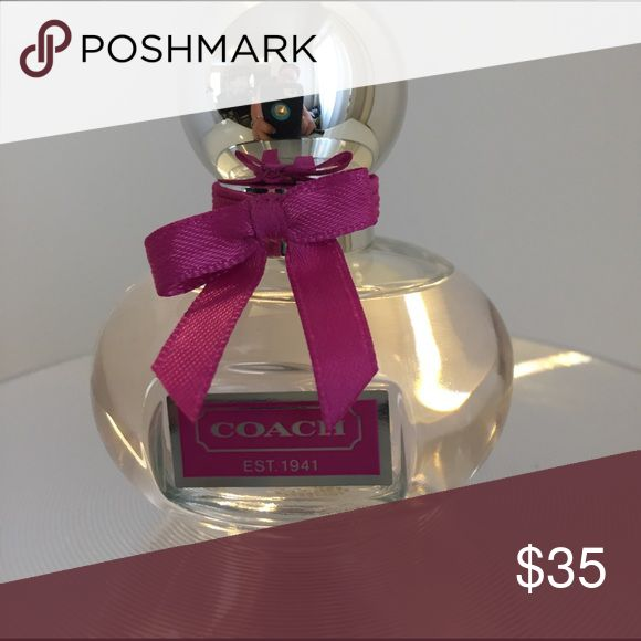 Coach Poppy Floral NWOT Anything Coach is wonderful! Sweet floral scents Coach Makeup
