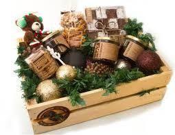 Resultado de imagen para canastas navideñas originales