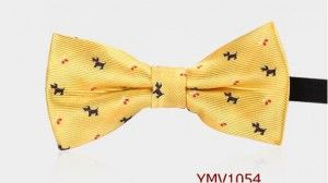 boy bow tie yellow dog 1054