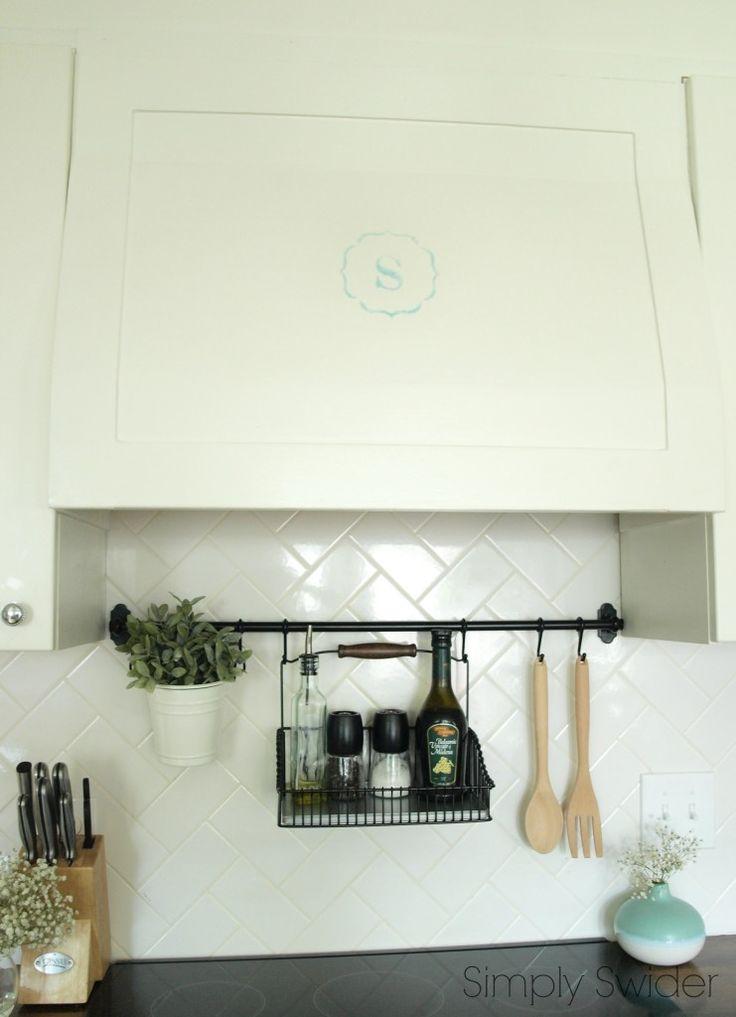 utensil rail for kitchen